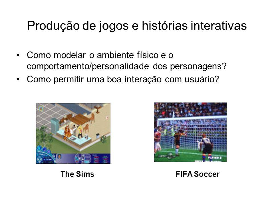 Produção de jogos e histórias interativas