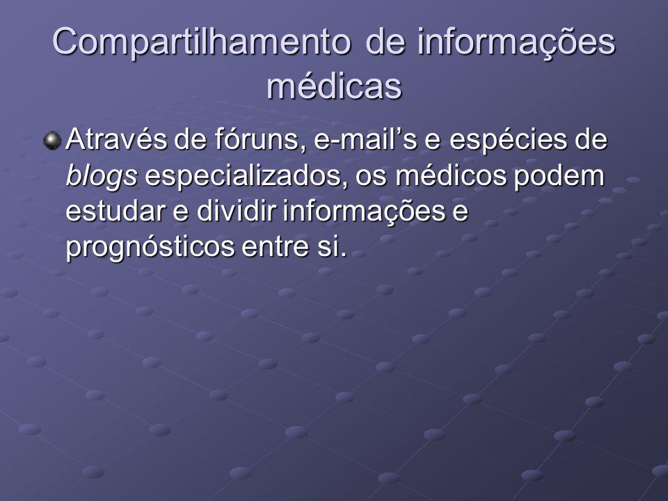 Compartilhamento de informações médicas