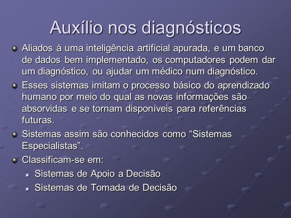 Auxílio nos diagnósticos