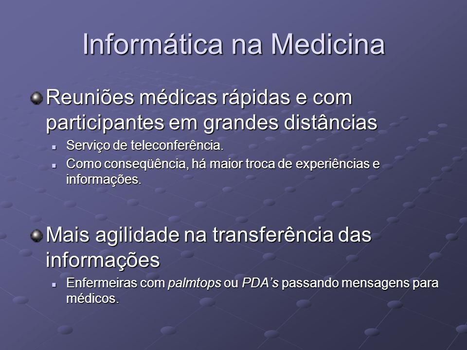 Informática na Medicina