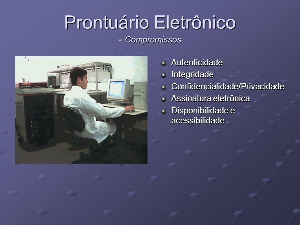 Prontuário Eletrônico - Compromissos