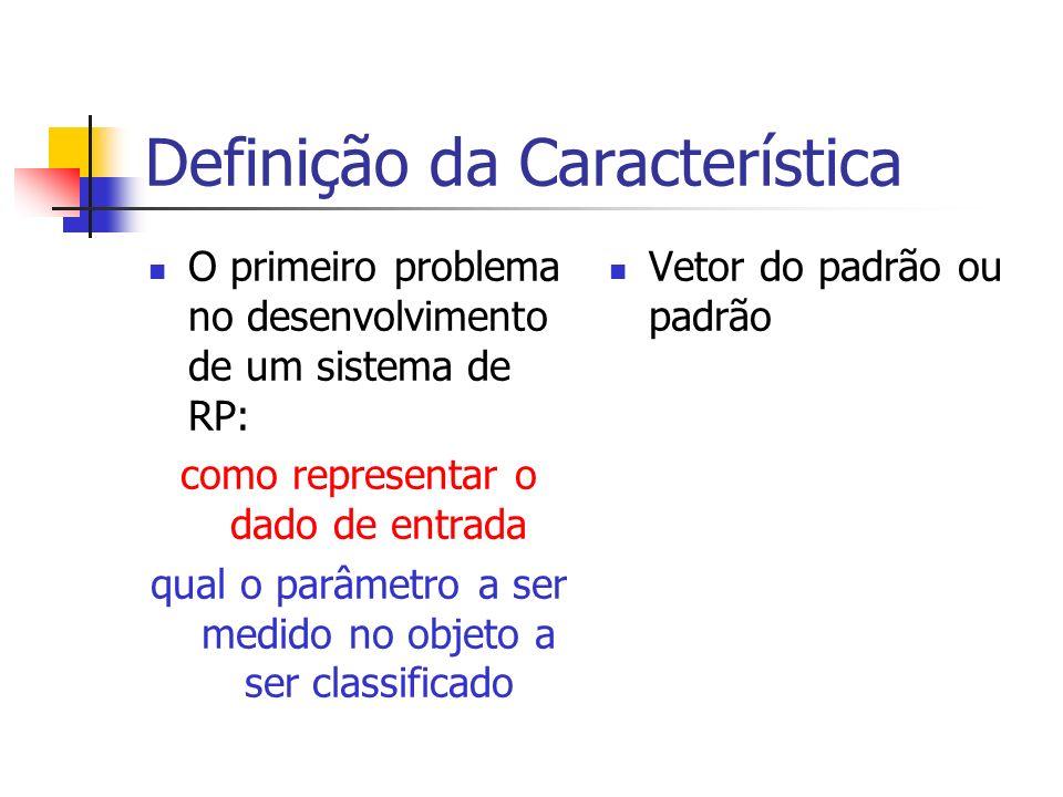 Definição da Característica