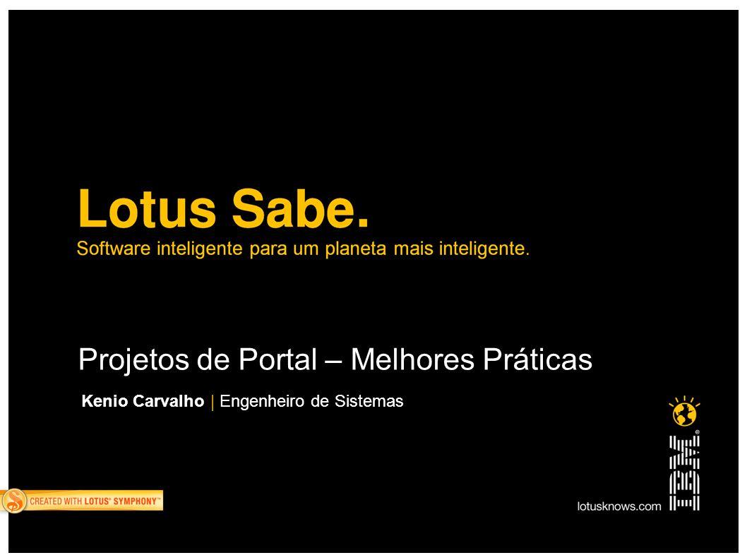 Projetos de Portal – Melhores Práticas