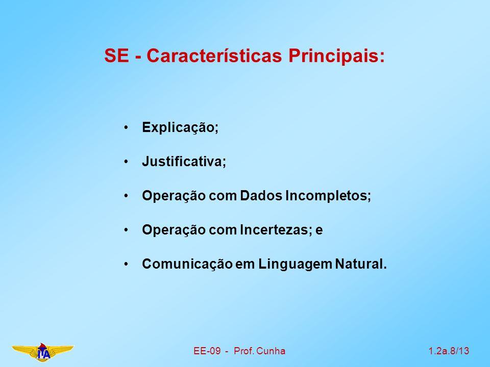 SE - Características Principais: