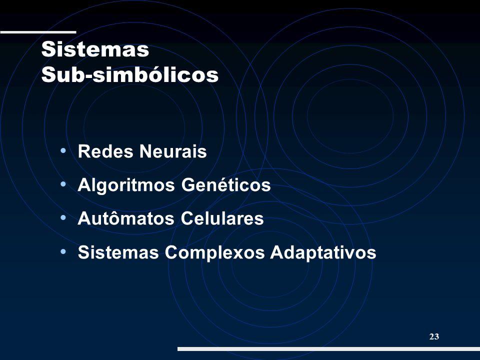 Sistemas Sub-simbólicos