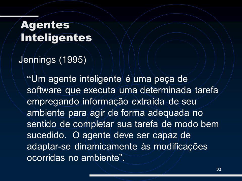 Agentes Inteligentes Jennings (1995)
