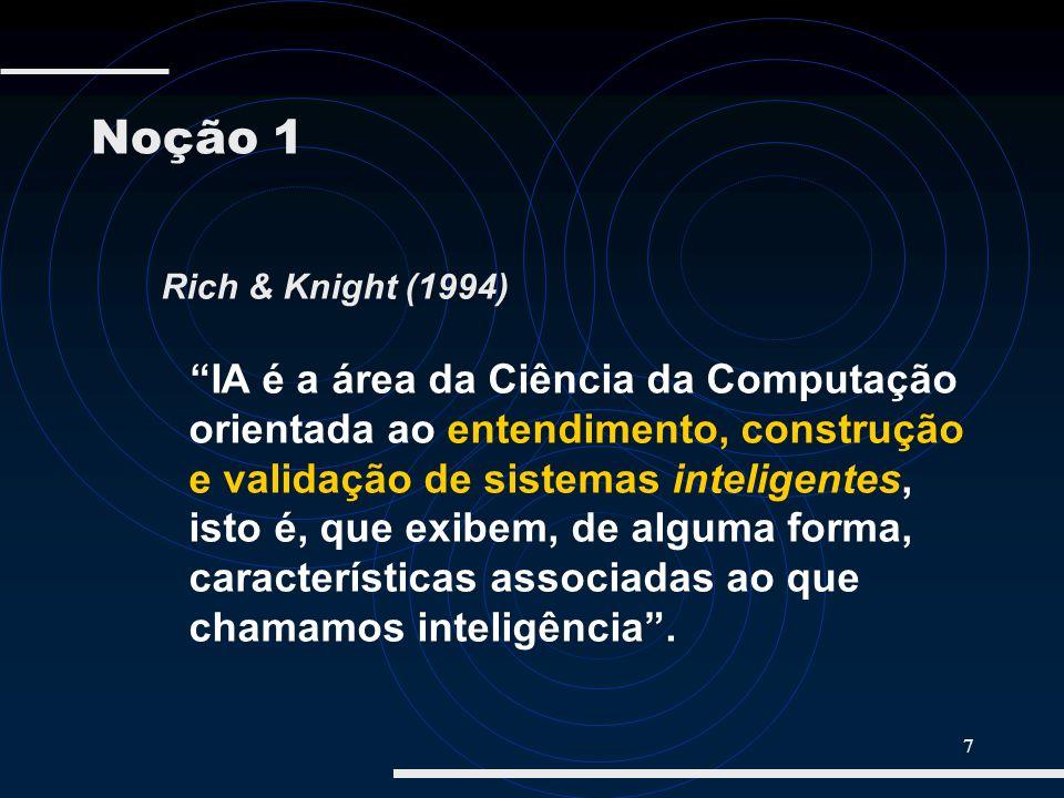 Noção 1Rich & Knight (1994)