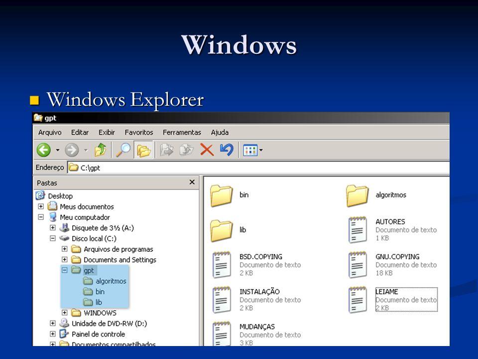 Windows Windows Explorer