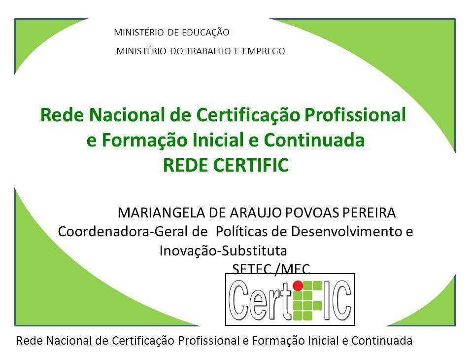 Cert IC Rede Nacional de Certificação Profissional