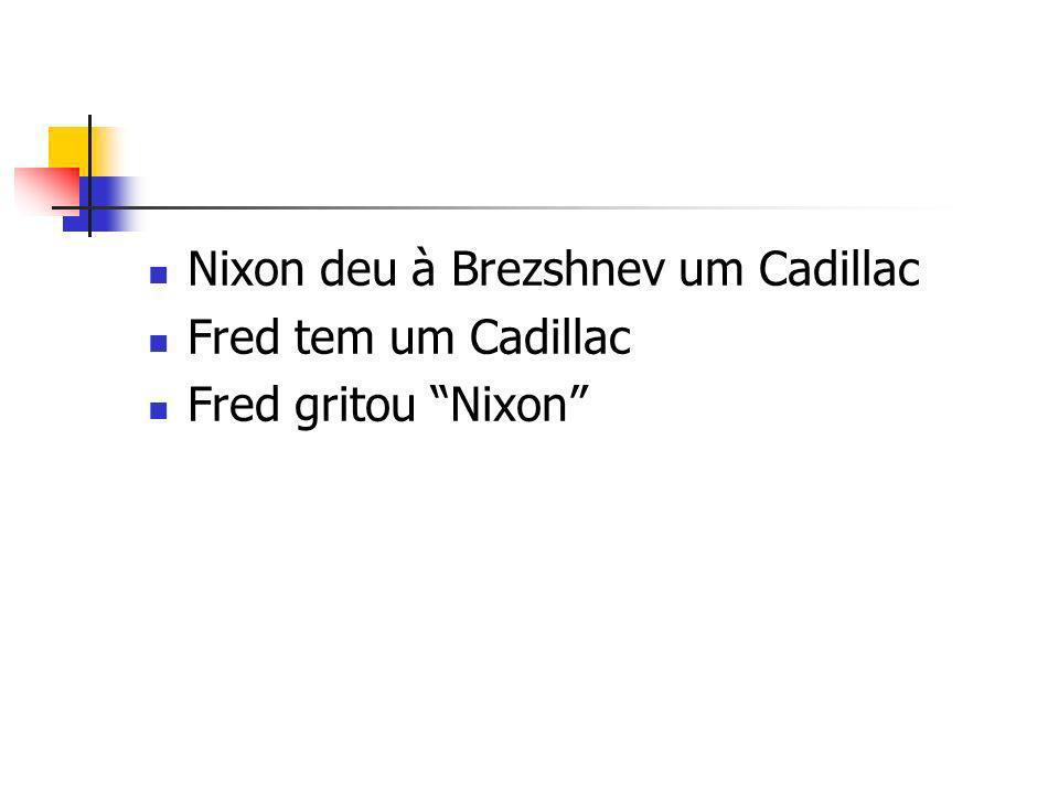 Nixon deu à Brezshnev um Cadillac