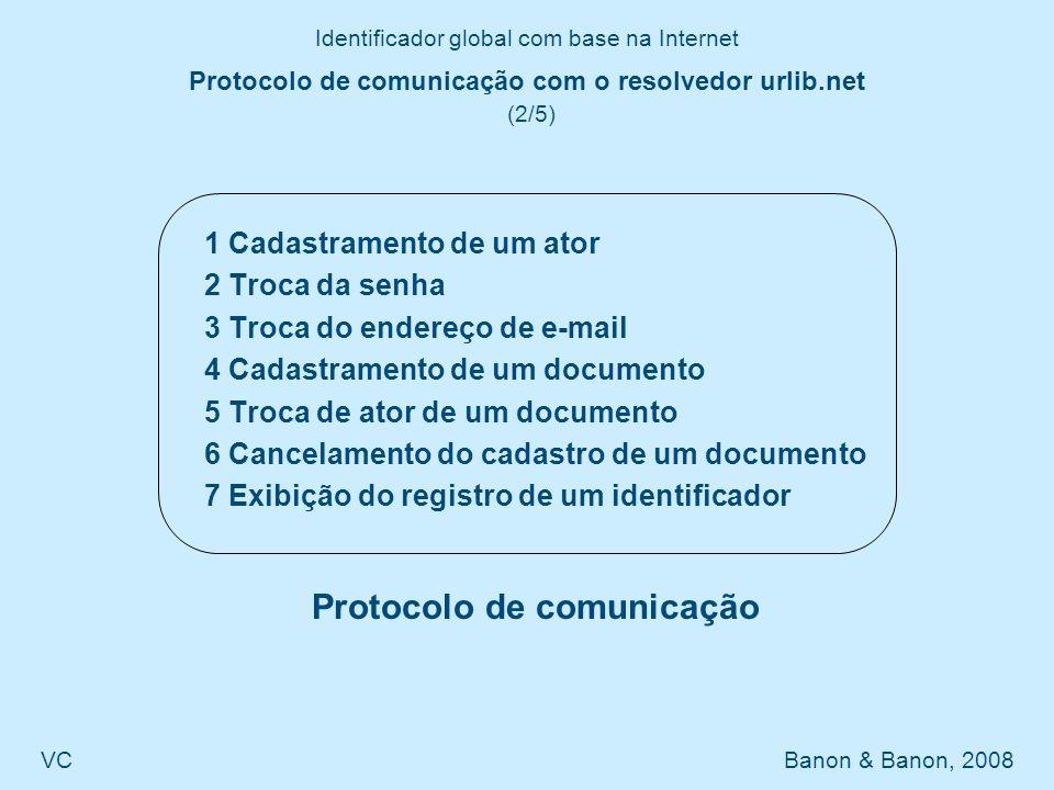 Protocolo de comunicação com o resolvedor urlib.net (2/5)