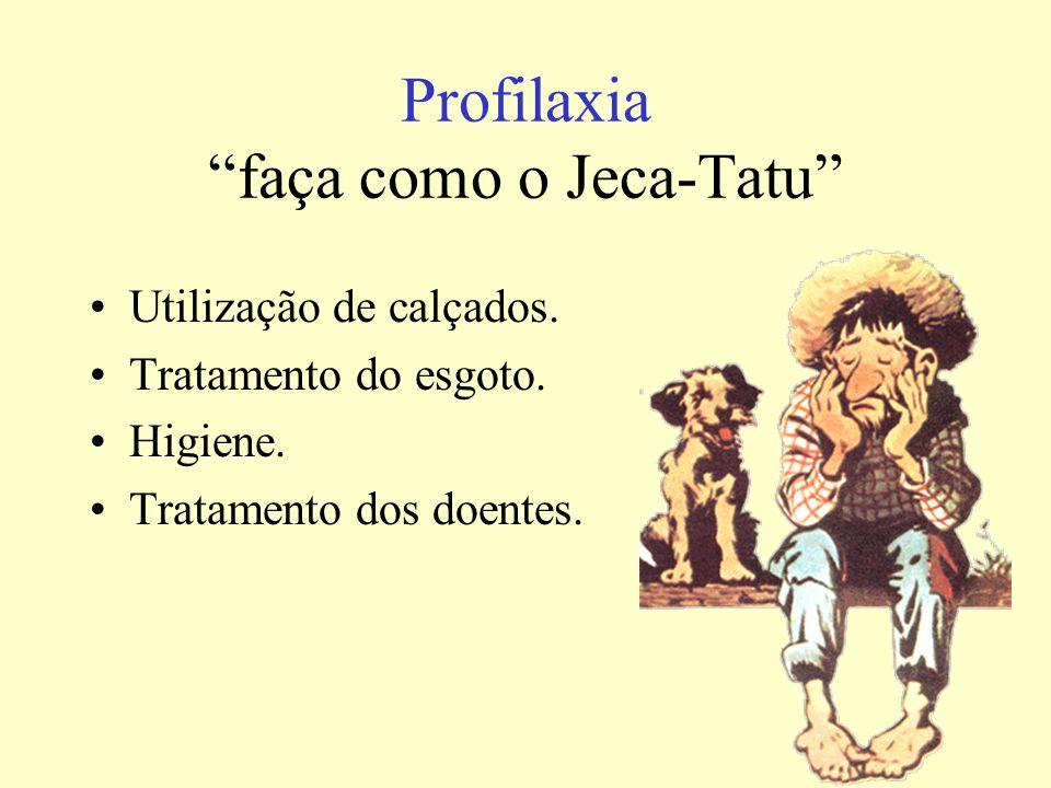 Profilaxia faça como o Jeca-Tatu