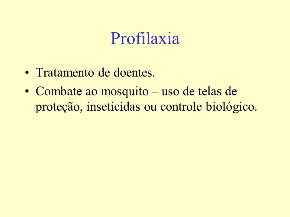 Profilaxia Tratamento de doentes.