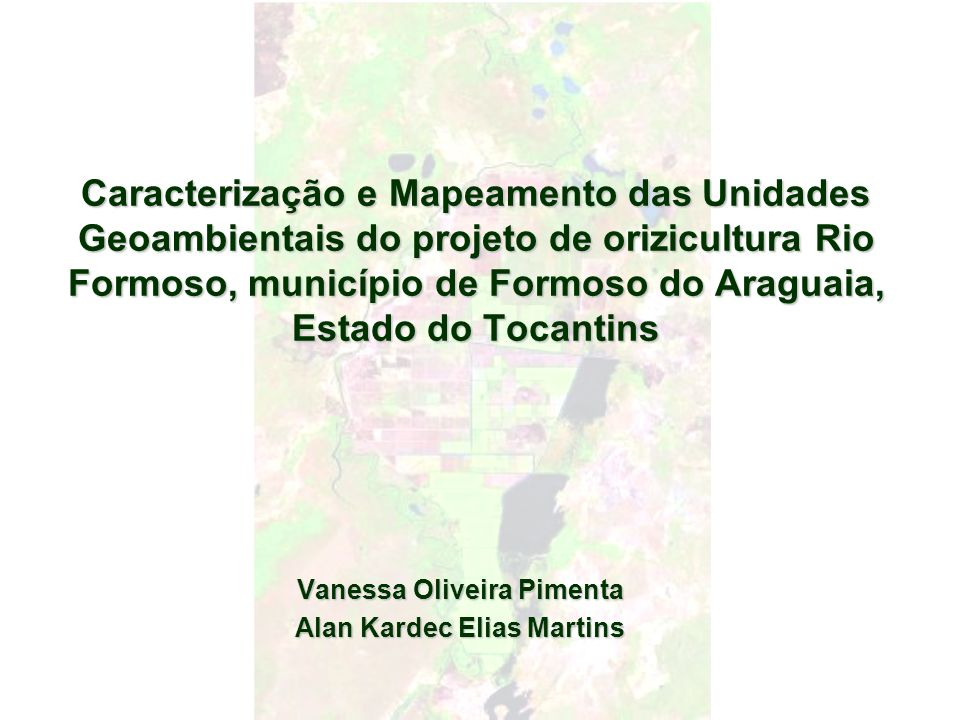 Vanessa Oliveira Pimenta Alan Kardec Elias Martins