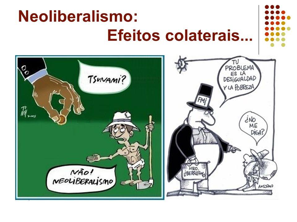 Neoliberalismo: Efeitos colaterais...