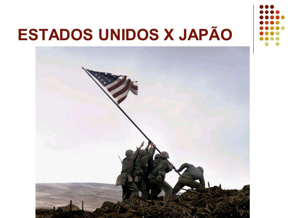 ESTADOS UNIDOS X JAPÃO