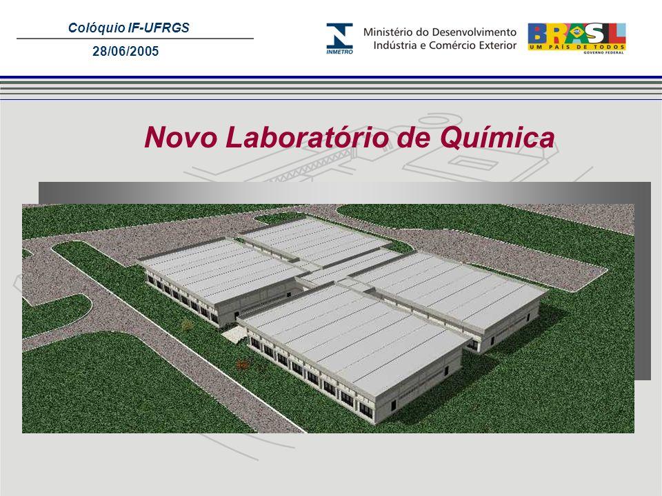 Novo Laboratório de Química