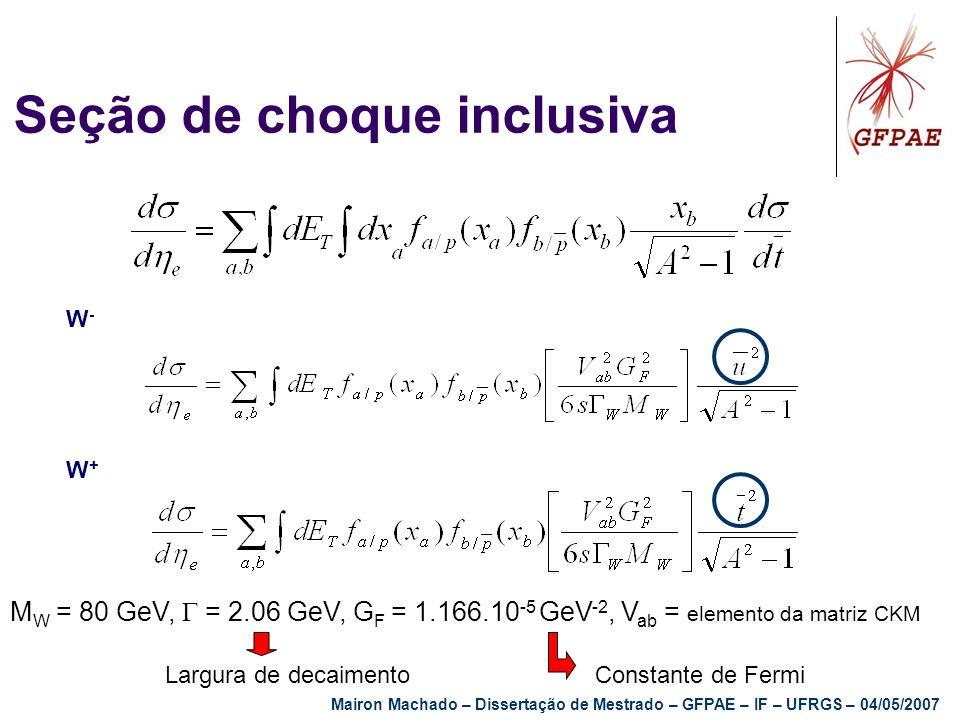 Seção de choque inclusiva