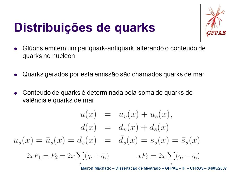 Distribuições de quarks