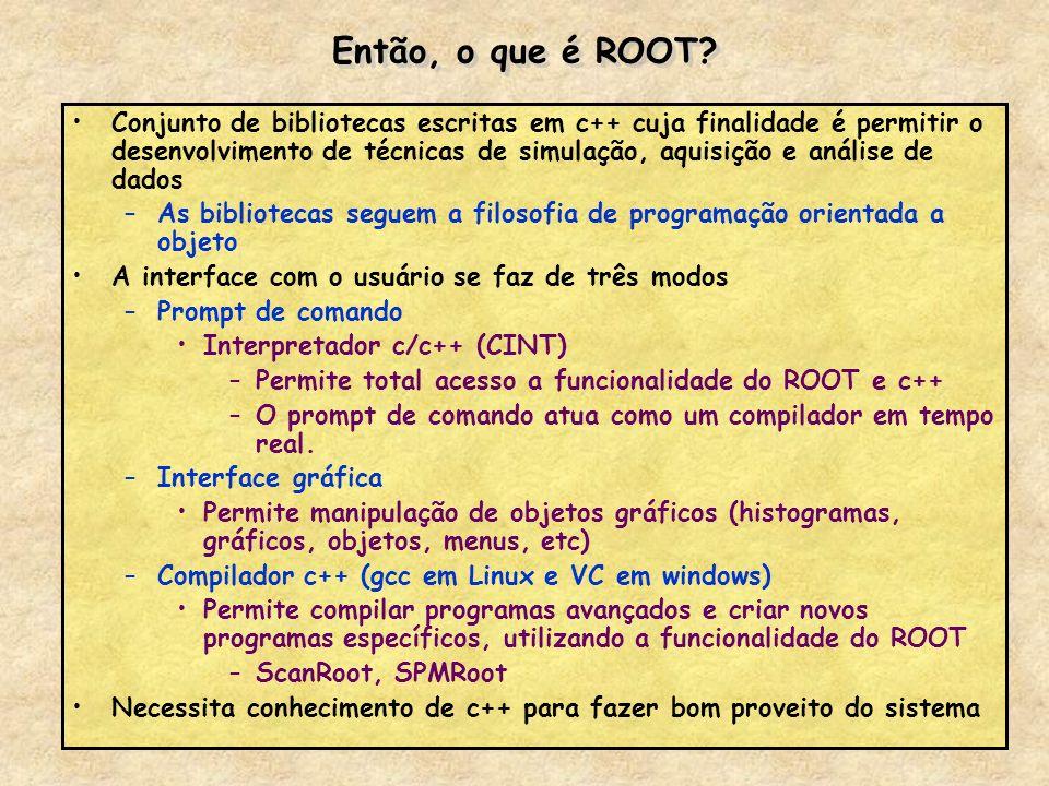 Então, o que é ROOT