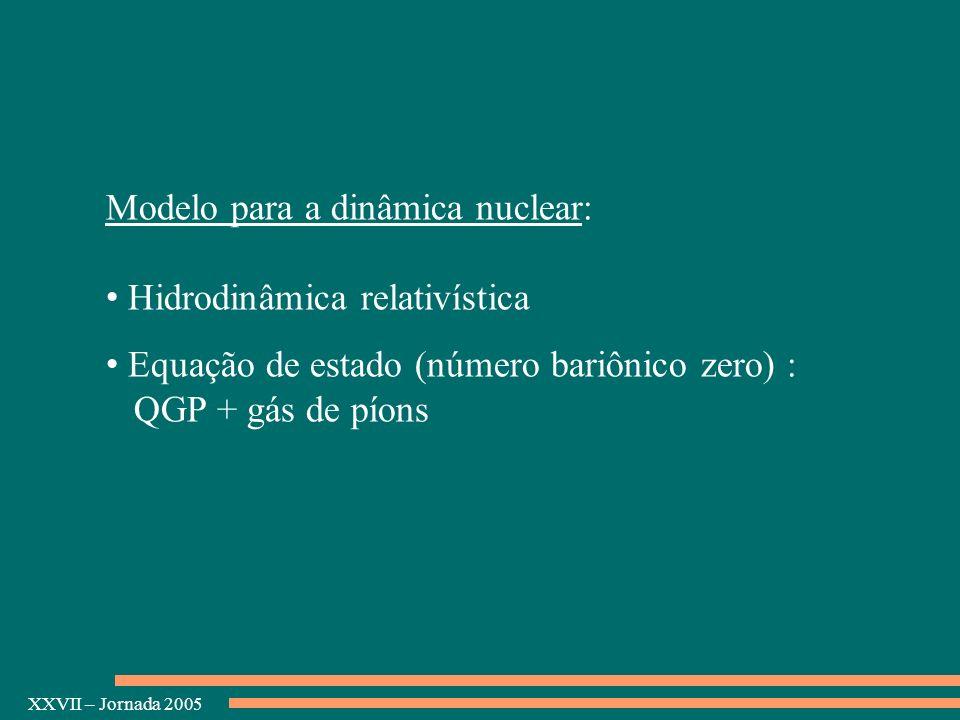 Modelo para a dinâmica nuclear:
