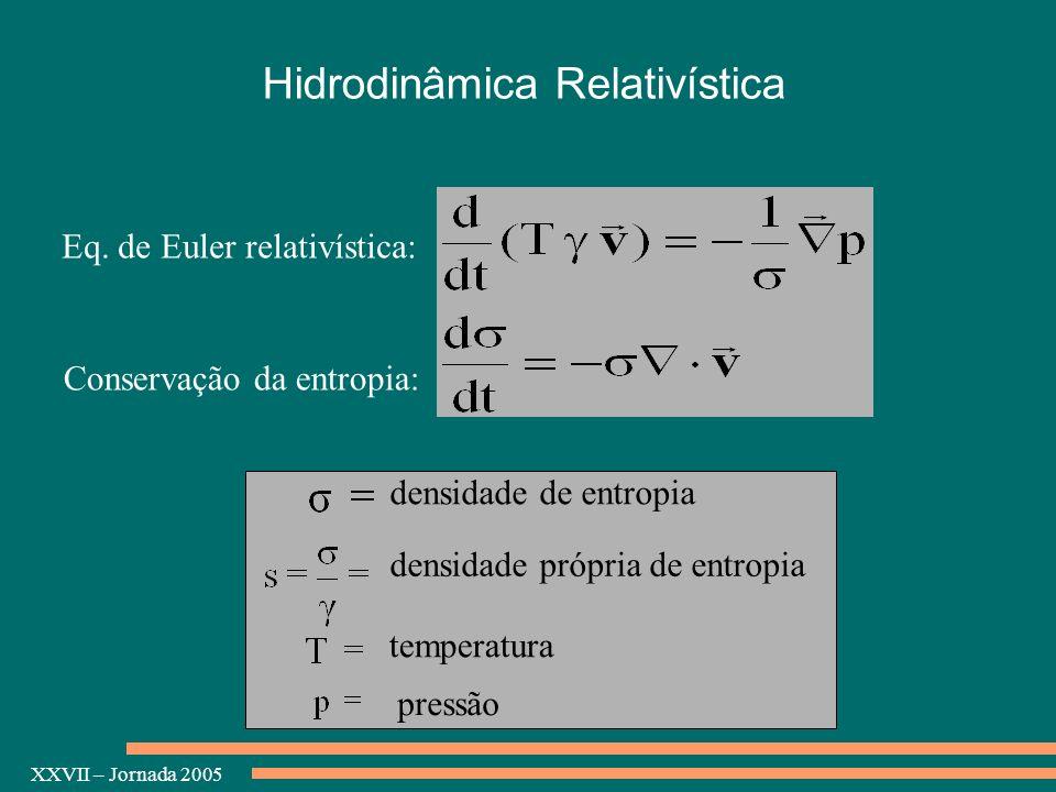 Hidrodinâmica Relativística