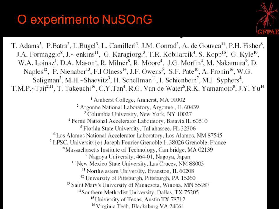 O experimento NuSOnG Mairon Machado