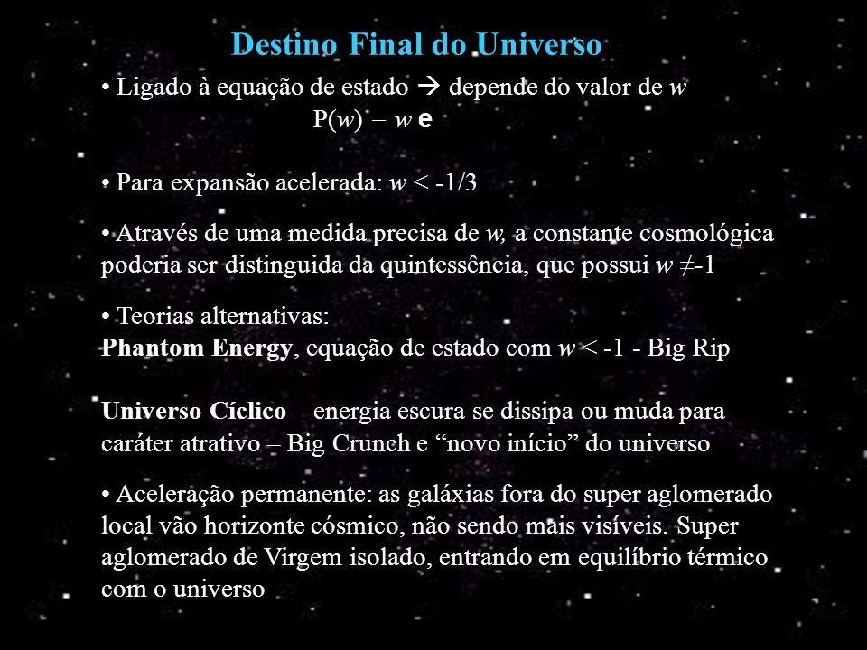 Destino Final do Universo