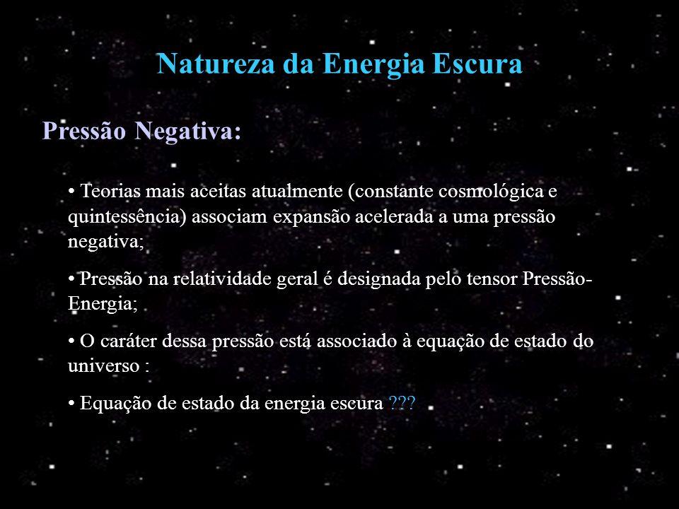 Natureza da Energia Escura