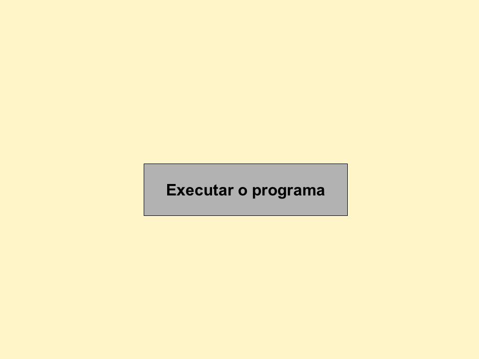 Executar o programa
