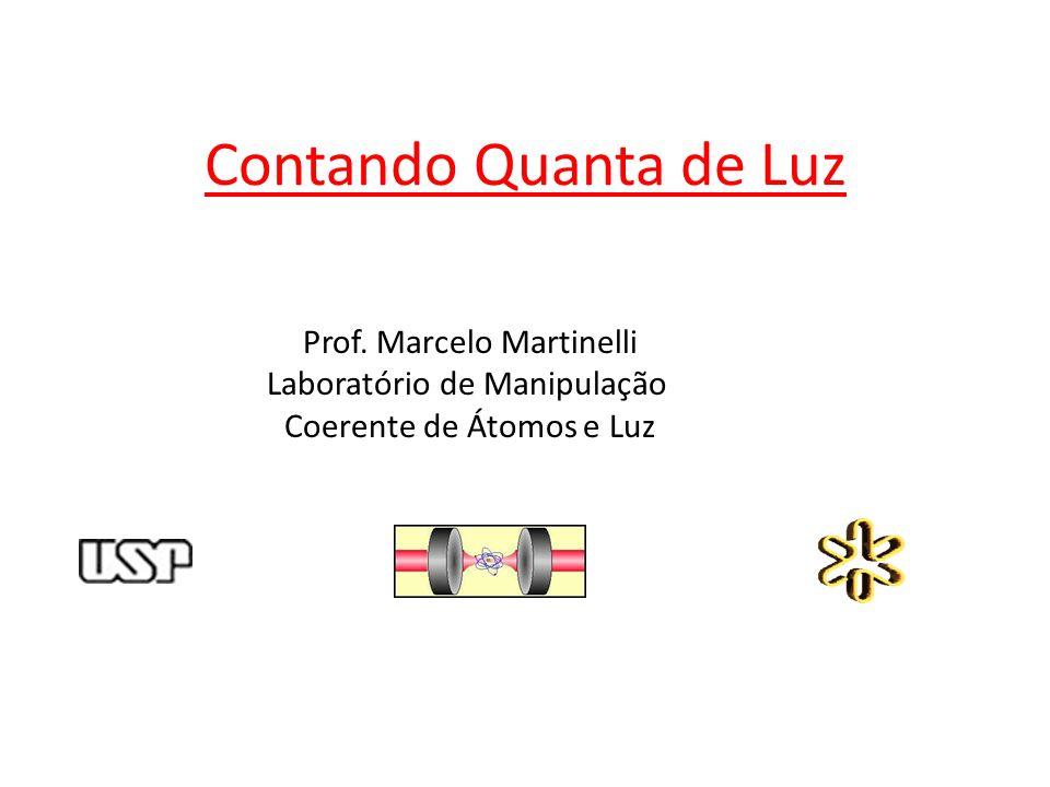 Contando Quanta de Luz Prof. Marcelo Martinelli