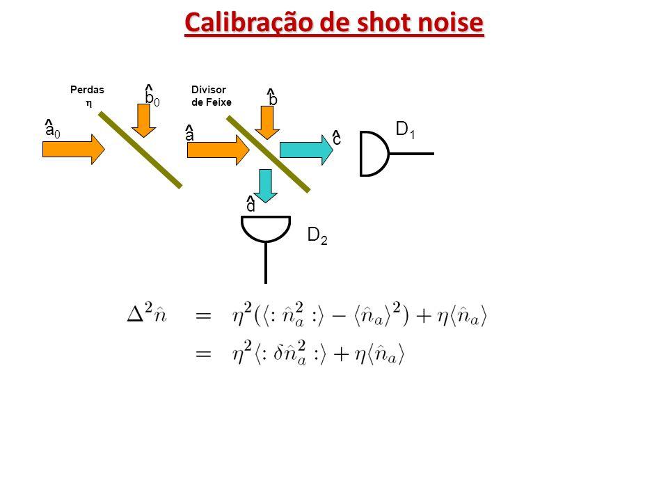 Calibração de shot noise