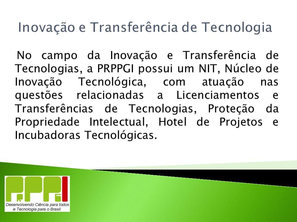 Inovação e Transferência de Tecnologia