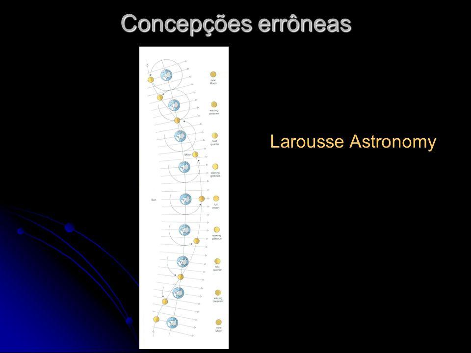Concepções errôneas Larousse Astronomy