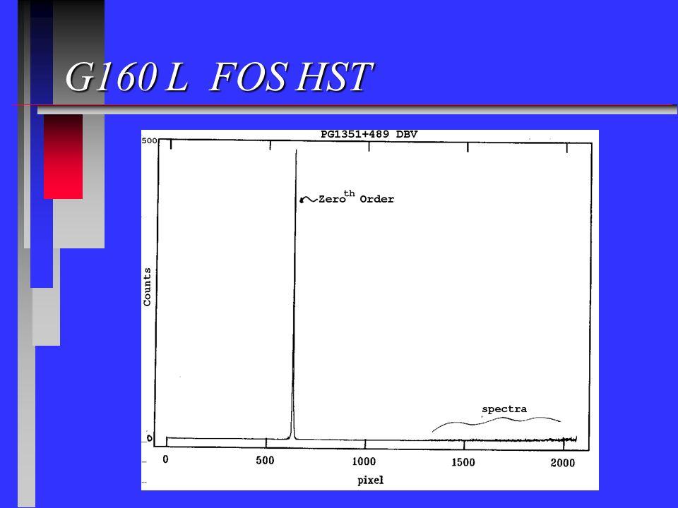 G160 L FOS HST