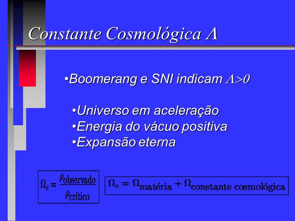 Constante Cosmológica L