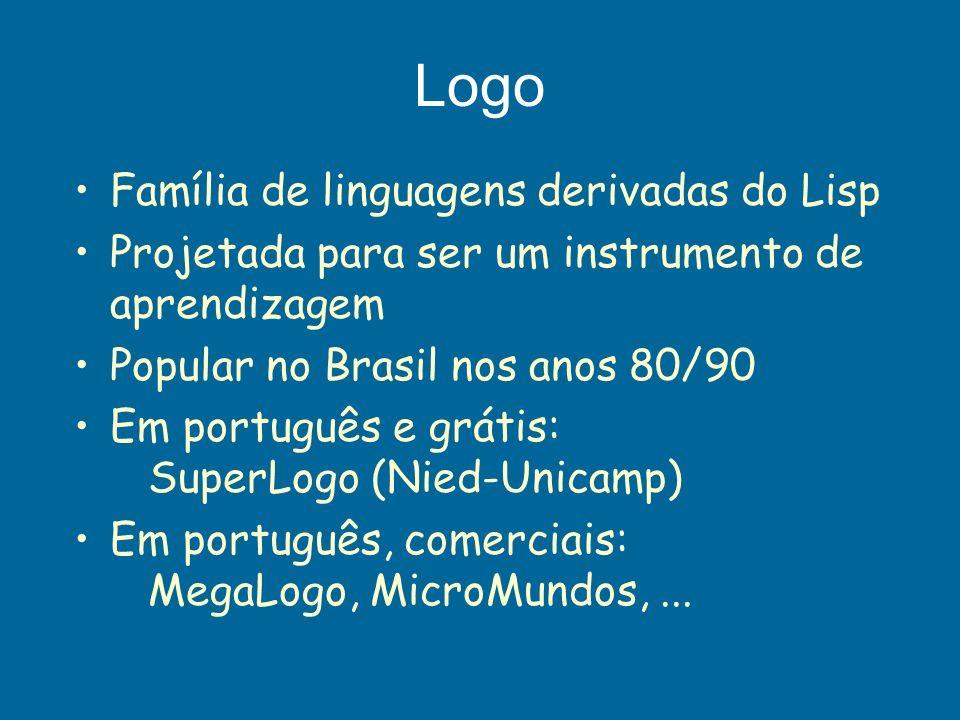 Logo Família de linguagens derivadas do Lisp