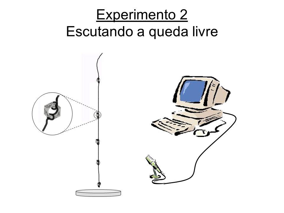 Experimento 2 Escutando a queda livre