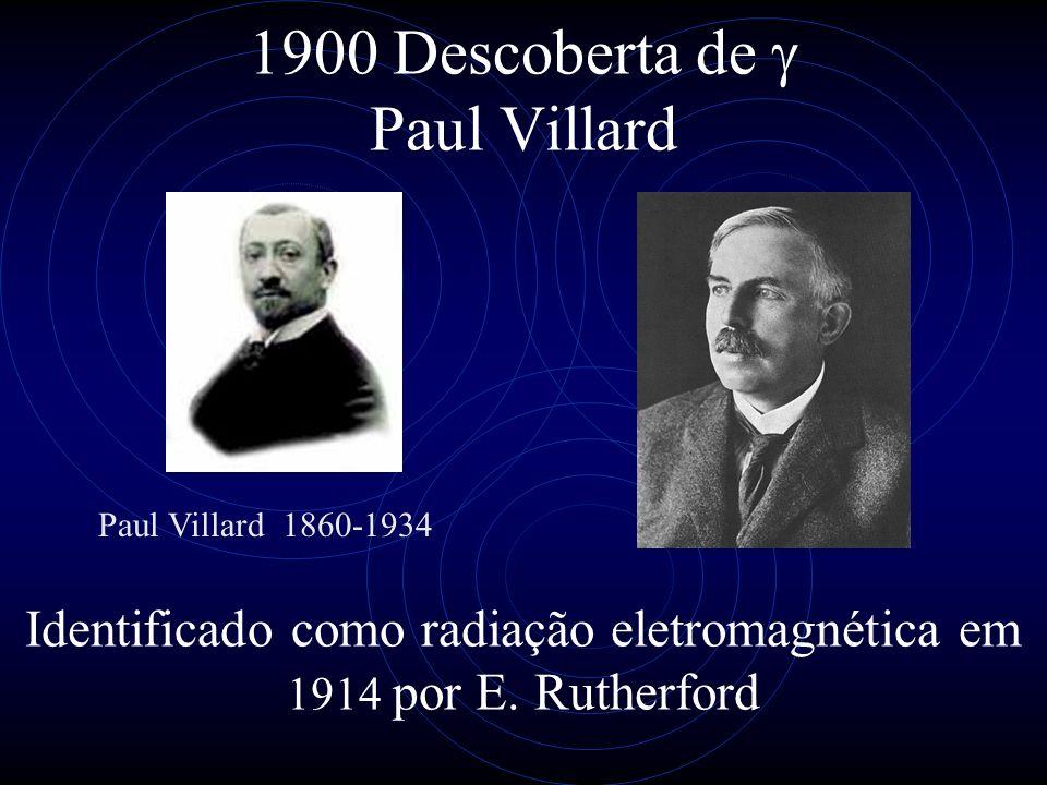 1900 Descoberta de g Paul Villard