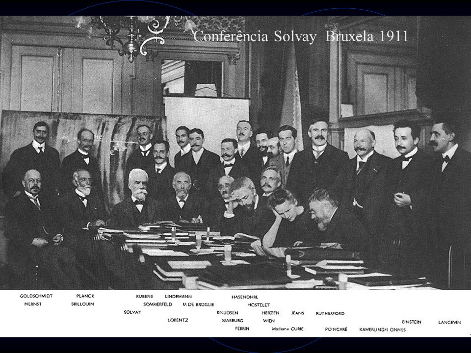 Conferência Solvay Bruxela 1911