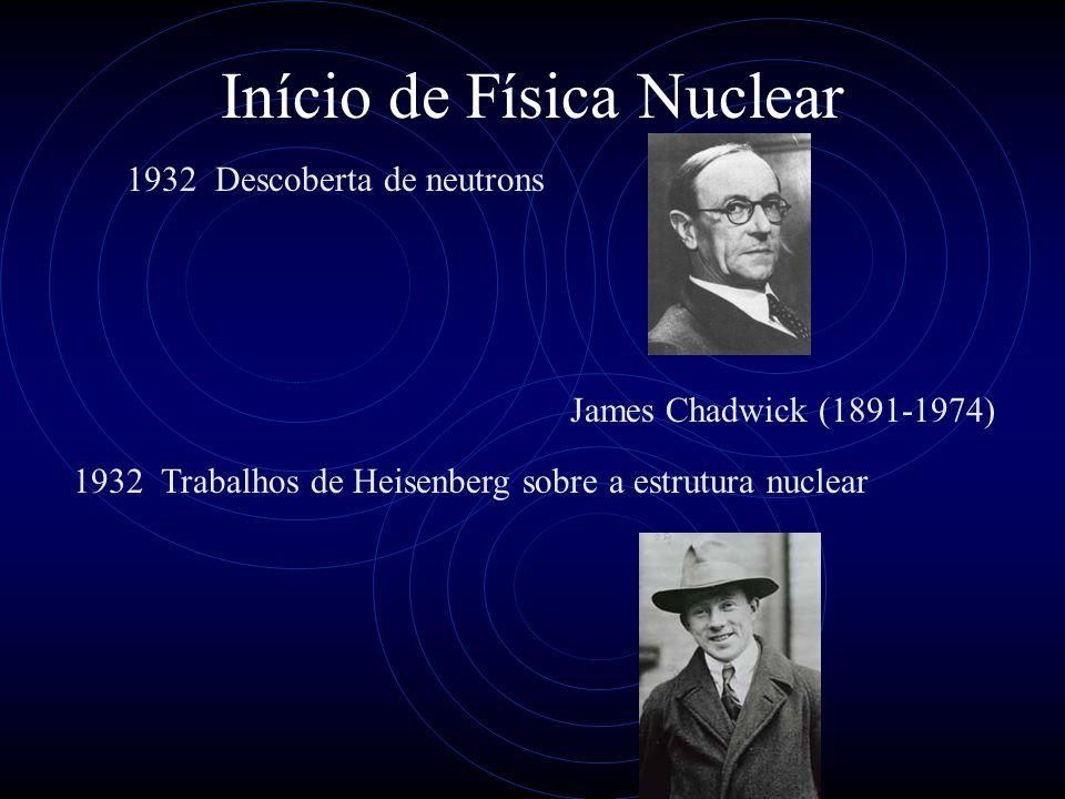 Início de Física Nuclear
