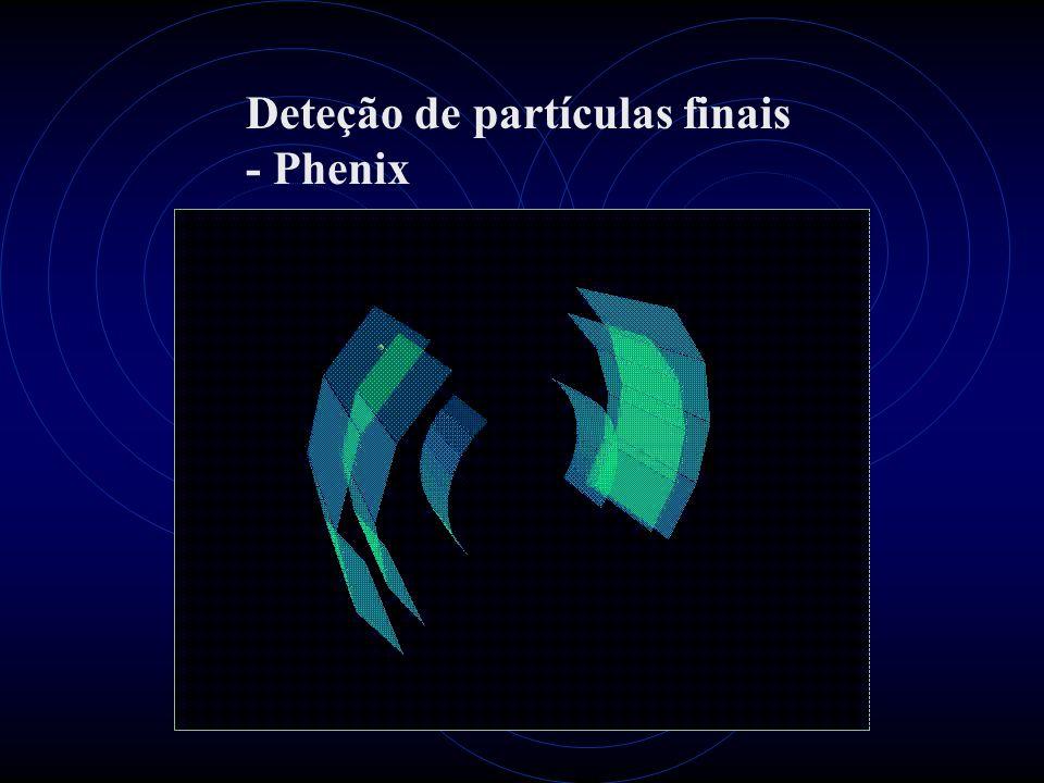 Deteção de partículas finais - Phenix