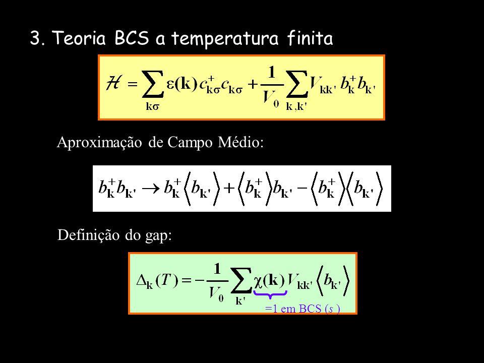 3. Teoria BCS a temperatura finita
