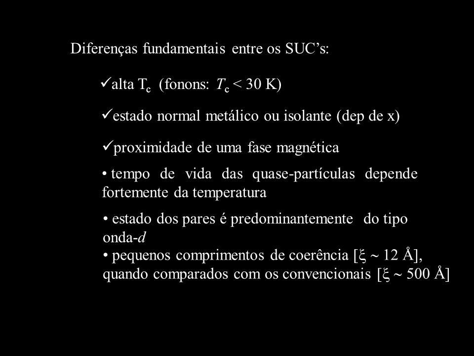 Diferenças fundamentais entre os SUC's:
