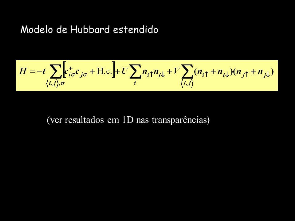Modelo de Hubbard estendido