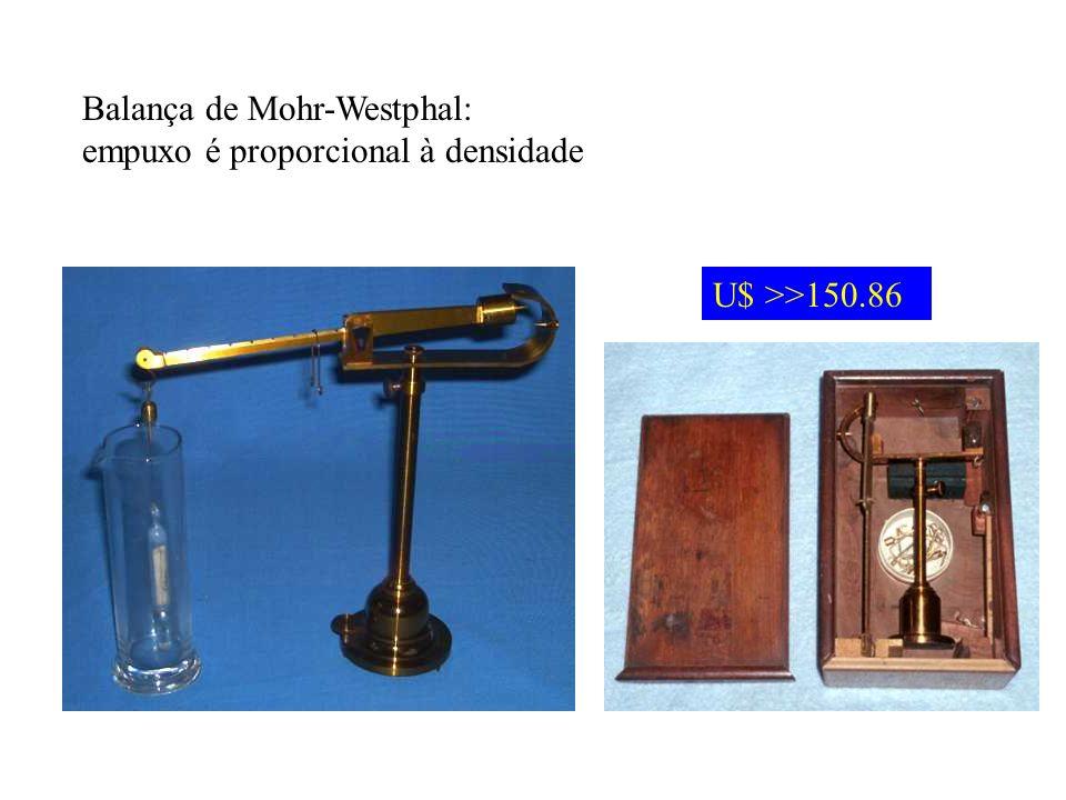 Balança de Mohr-Westphal: