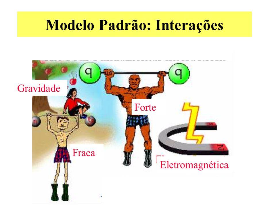 Modelo Padrão: Interações