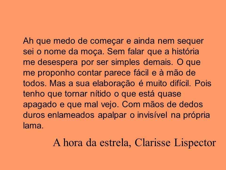 A hora da estrela, Clarisse Lispector