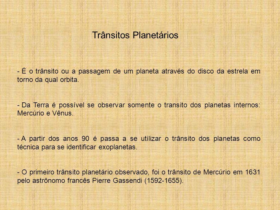 Trânsitos Planetários