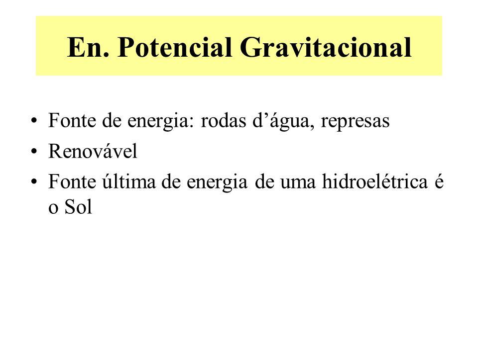 En. Potencial Gravitacional